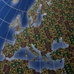 European stocks slip at the open as oil falls
