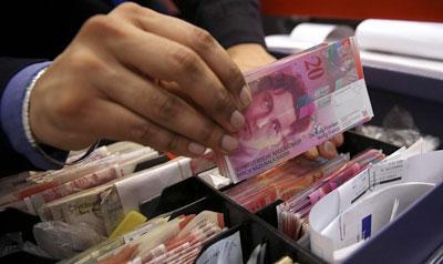 Swiss franc shock