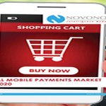 NOVONOUS estimates that Global Mobile Payments market will grow at a CAGR of 36.26% by 2020