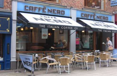 ratio analysis caffe nero Industry analysis d&b hoovers some locations are operated by retail chain house of fraser caffè nero also operates at london's heathrow airport through a.