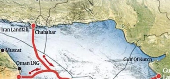 Construction of iran oman india gas pipeline is about to happen sage gas pipeline map publicscrutiny Gallery