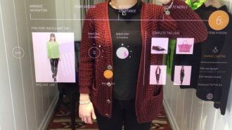 contactless mirrors - fitting rooms