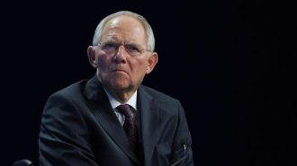 Germany Finance Chief