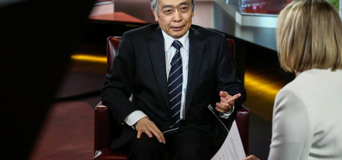 Bank of Japan Governor Haruhiko Kuroda Interview
