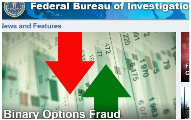 Binary options money laundering