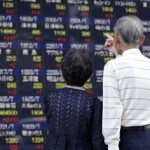 Asian shares rebound, sterling jumps on UK exit polls