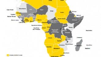 african economic map
