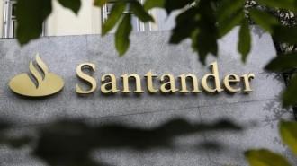 Spanish bank Santander logo