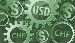 USD in CHF - exchange currency