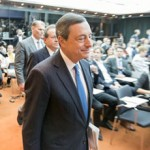 Draghi sends the Euro Lower on Thursday, Seen Paring Losses Mid-Day