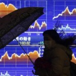 The yen was flat, euro was little changed; Equity markets in Asia were steady