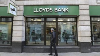 Lloyds bank in central London
