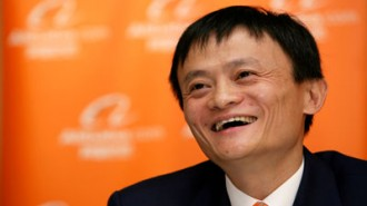 Jack Ma, executive chairman of Alibaba Group,