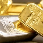 Gold and silver futures action turning positive