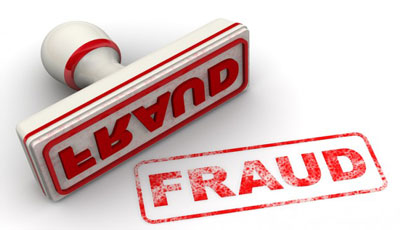 red Fraud-Stamp image