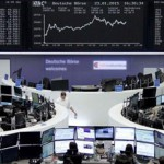 Germany's DAX 30 index jumps above 12,000 for first time