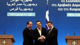 Egypt-Greece-Cyprus-trilateral-talks