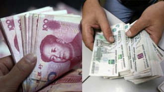 yuan-ruble