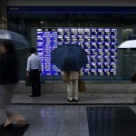 Asian Stocks, Aussie Trim Gains After China Data as Crude Climbs