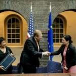 EU, US sign shared law enforcement data deal