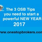 The 3 OSB Tips you need to start a powerful NEW YEAR 2017