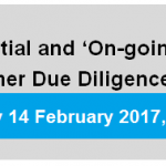 "AML Seminar: Initial and ""On-Going"" Customer Due Diligence (CDD)"