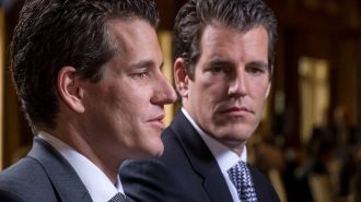 Winklevoss twins Cameron and Tyler