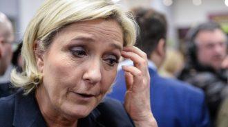 France's Marine Le Pen