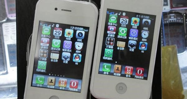 fake smartphones