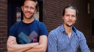 tom blomfield ceo left jonas hucklestein cto right monzo