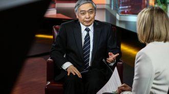 Bank of Japan Governor Haruhiko Kuroda Interview