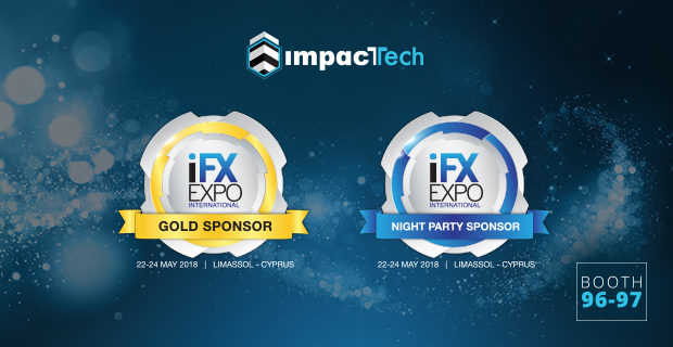 ImpacTech are gold sponsor at iFX EXPO 2018 | Onestopbrokers – Forex